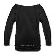 Allie Stars & Witchy Tools #ModernWitchLife - Wide Neck 3/4 Sleeve T-shirt Black
