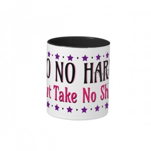 Do No Harm (But Take No Shit) Two-Tone Mug