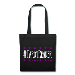#TarotReader - Canvas Tote Black