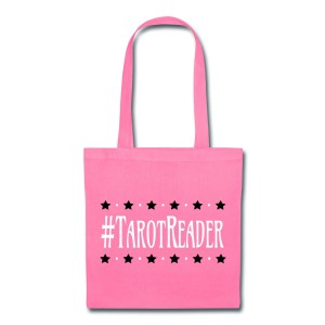 #TarotReader - Canvas Tote Pink