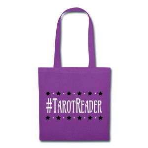 #TarotReader - Canvas Tote Purple