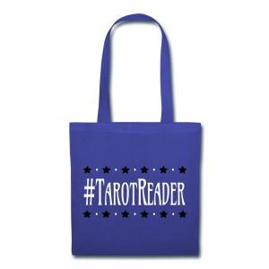 #TarotReader - Canvas Tote Royal Blue