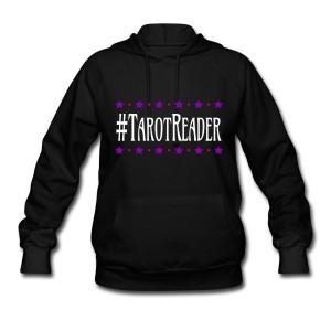 #TarotReader - Long Sleeve Hoodie Sweatshirt Black