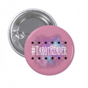 #TarotReader Pink 2 in. Button