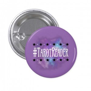 #TarotReader Purple 1 in. Button