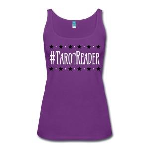 #TarotReader - Scoop Neck Tank Purple