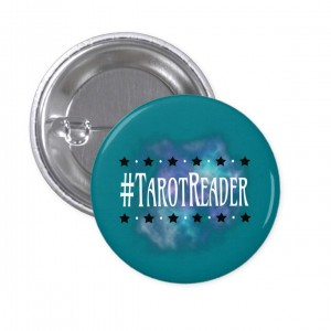 #TarotReader Teal 1 in. Button