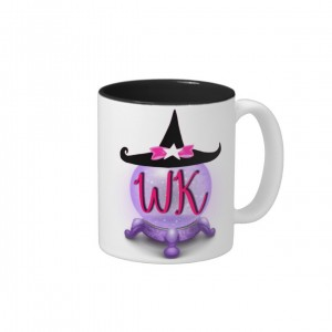 Witchy Kouture Logo Two-tone Mug