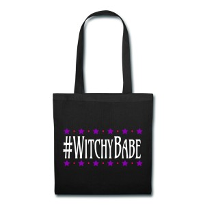 #WitchyBabe - Canvas Tote Black