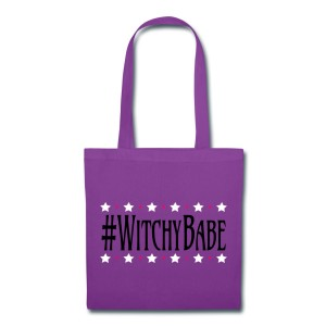 #WitchyBabe - Canvas Tote Purple