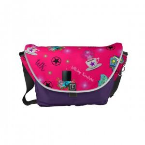 WK #ModernWitchLife Pink Print Day Bag