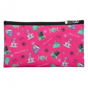 WK #ModernWitchLife Pink Print Medium Cosmetic Bag