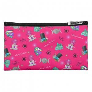 WK #ModernWitchLife Pink Print Medium Cosmetic Bag