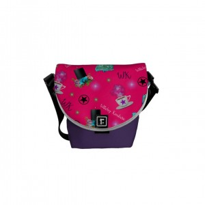 WK #ModernWitchLife Pink Print Mini Messenger Bag