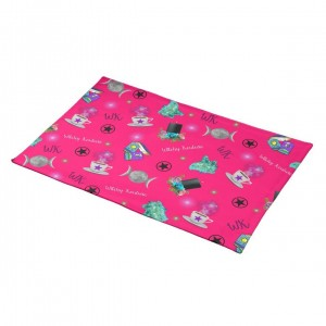 WK #ModernWitchLife Pink Print Place Mats