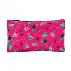 WK #ModernWitchLife Pink Print Small Makeup Bag