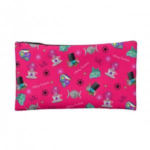 WK #ModernWitchLife Pink Print Small Makeup Bag