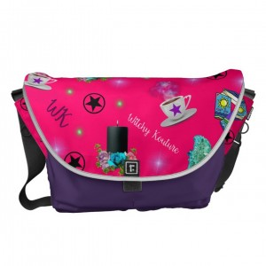 WK #ModernWitchLife Pink Print Travel Bag