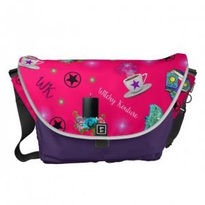 WK #ModernWitchLife Pink Print Travel Bag