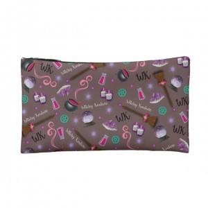 WK #ModernWitchLife Taupe Print Small Makeup Bag