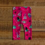 WK #ModernWitchLife Pink Print Baby Leggings