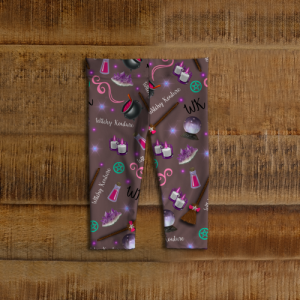 WK #ModernWitchLife Taupe Print Baby Leggings